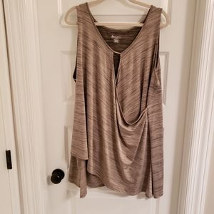 Lane Bryant size 26-28 sleeveless top NWOT
